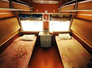 Uk Old Fashioned Sleeper Train