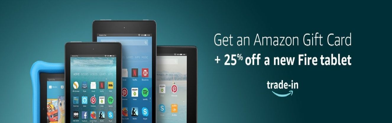 Amazon tradein your fire tablet at your local amazon