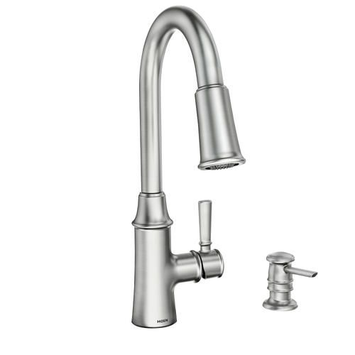 Purchased Moen Caris One Handle Pull Down Kitchen Faucet We Will Not Be Installing The Soap Dispenser