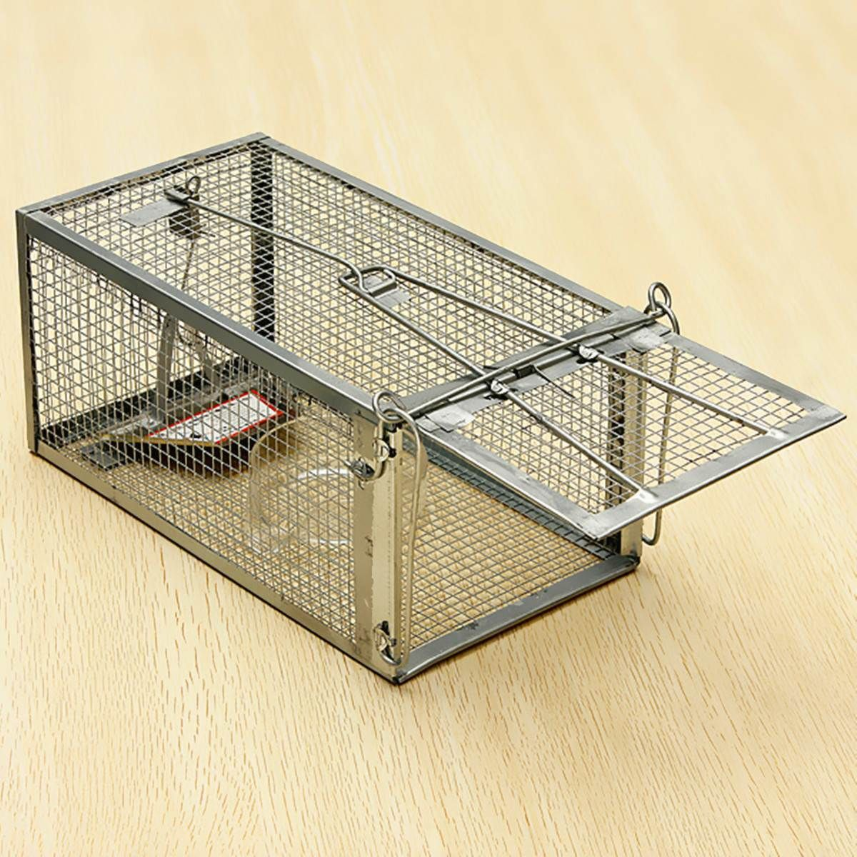 Reusable Hamster Cage Mice Rat Control Catch Bait Live Trap Rodent Animal Mouse Hamster Cage Pet Mice Rat Control