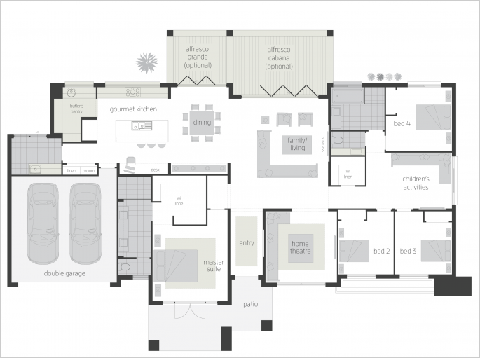 Esperance upgrade - Floor plan