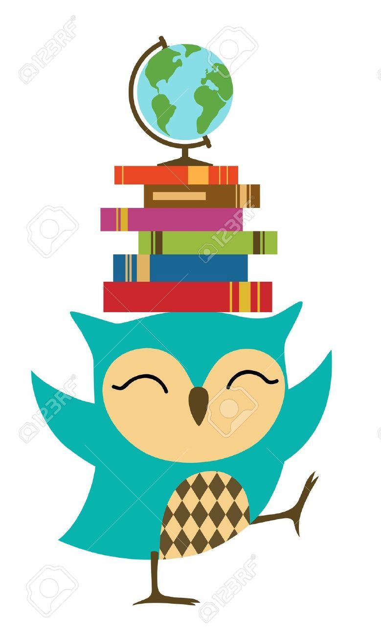 Little Owl Stock Illustrations Cliparts And Royalty Free Little Owl Vectors Book Clip Art Owl Books Owl Vector