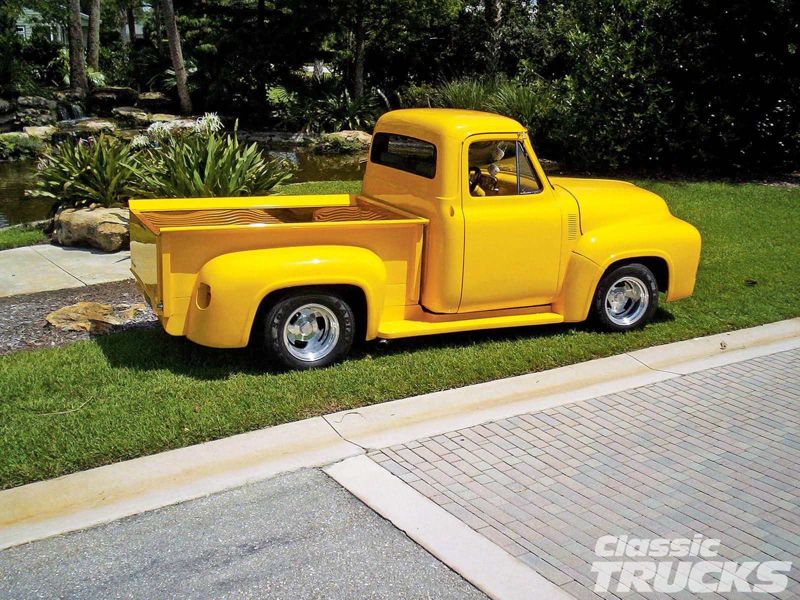 Classic ford trucks 1954 ford f100 pickup truck custom suspension kit photo 1