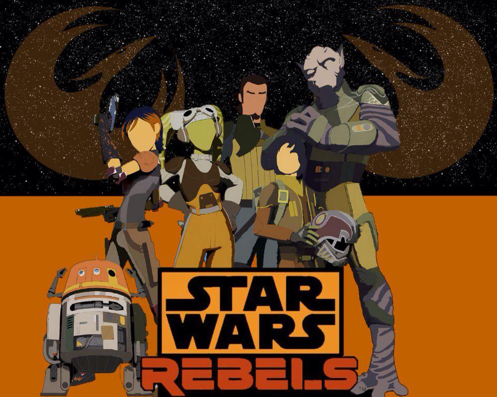 Minimalist Star Wars Rebels Wallpaper I Made Star Wars Geek Star Wars Rebels Star Wars Pictures