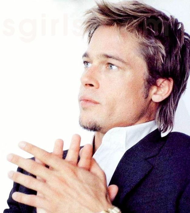 brad pit hair style brad pitt s choppy fight club hairstyle pictures 5802