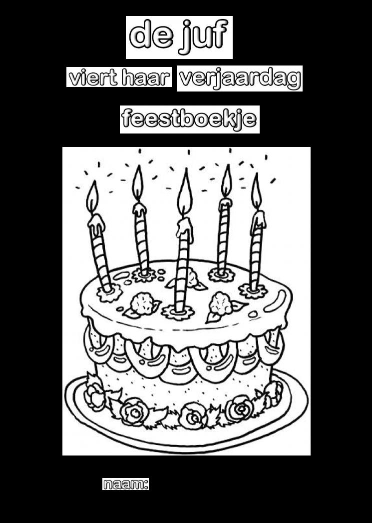 kleurplaat verjaardag juf fvb27 agbc