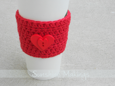 Sunny Stitching: Valentines Day Cup Sleeves & Two New Hats