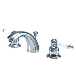 Kingston Brass KB945B Victorian Mini Spread Lavatory Faucet Oil Rubbed Bronze