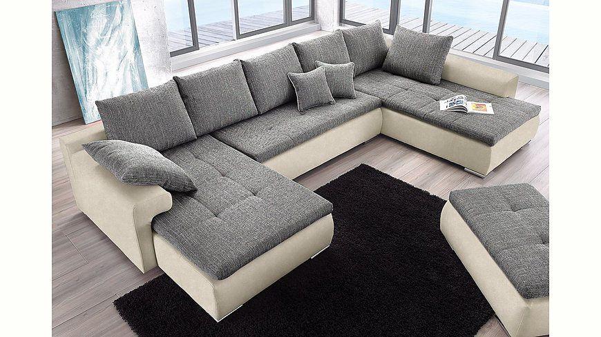 Collection AB Wohnlandschaft, wahlweise mit Bettfunktion Jetzt - wohnzimmer couch günstig