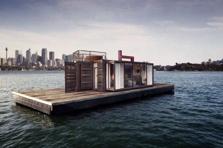 Get In The Sea And Stay There This Floating Pop Up Hotel Room