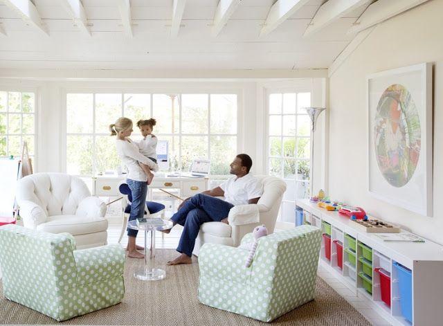 Bryn Alexandra Family Room Design Family Room Kid Spaces