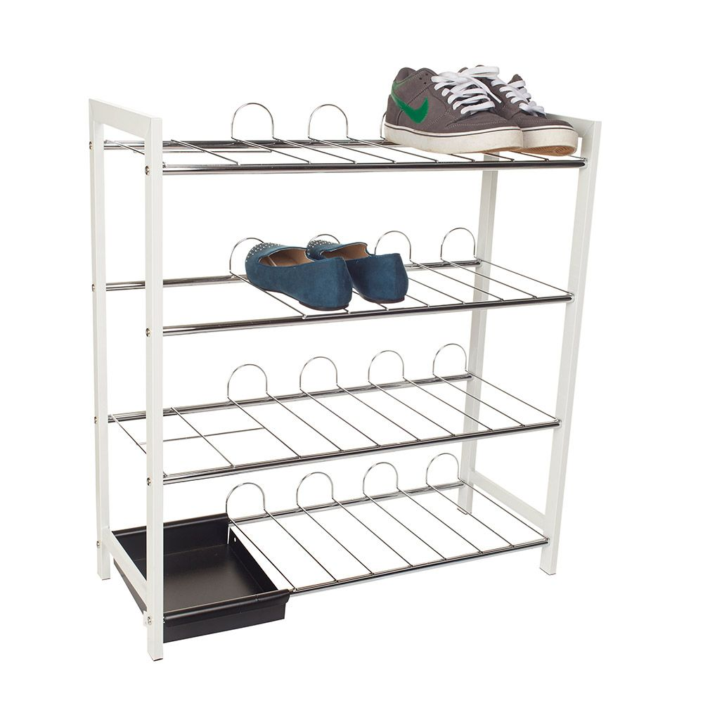 Howards storage world shoe rack 4 tier with umbrella - Howards storage ...