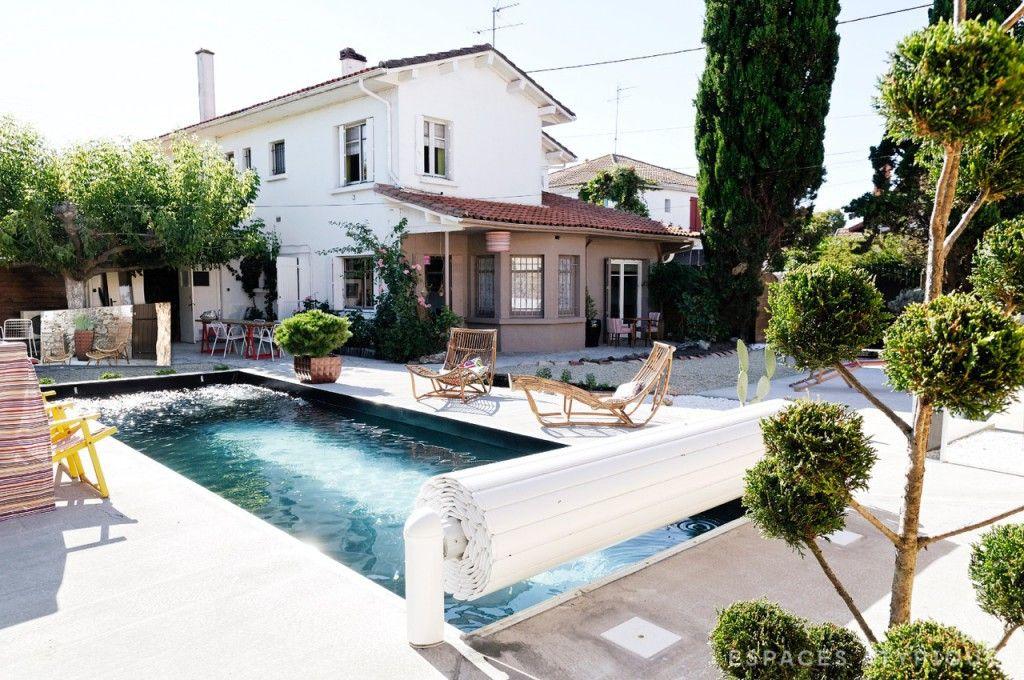 La Teste  Maison poétique avec piscine - Agence EA Arcachon - Cap - location maison cap ferret avec piscine