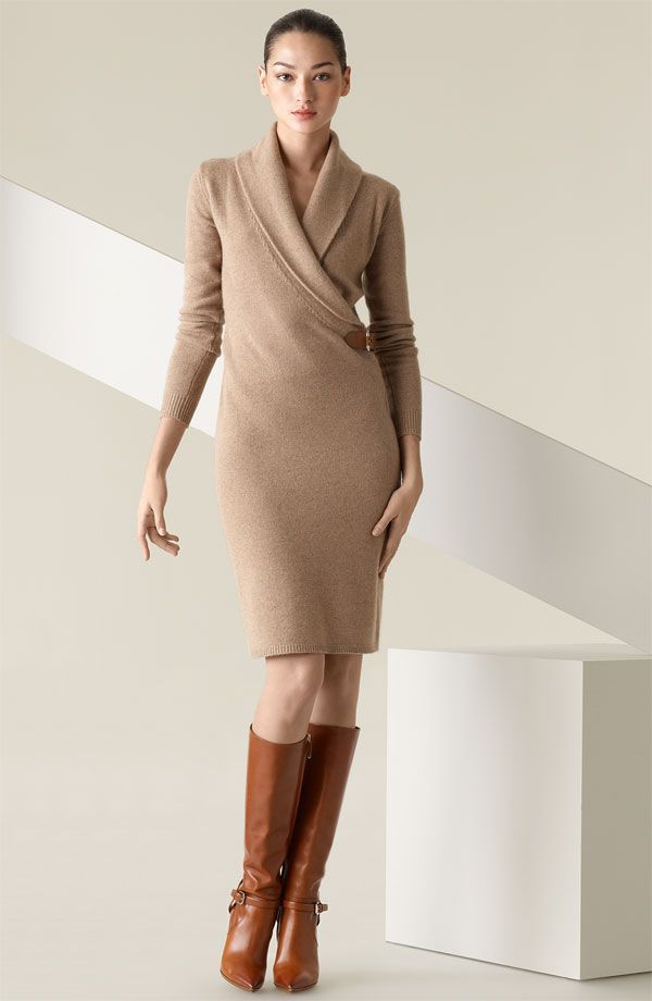 ec94e2b53685 Style Guide: How to wear sweater dress? | Fashion Inspires ...