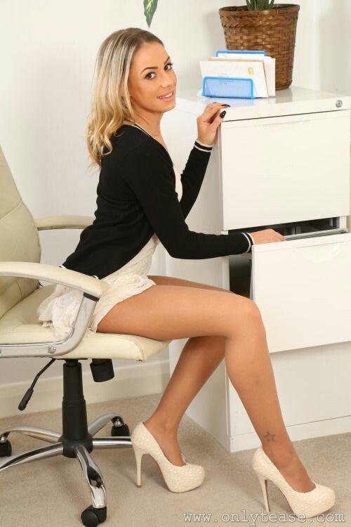 Legs secretary sexy