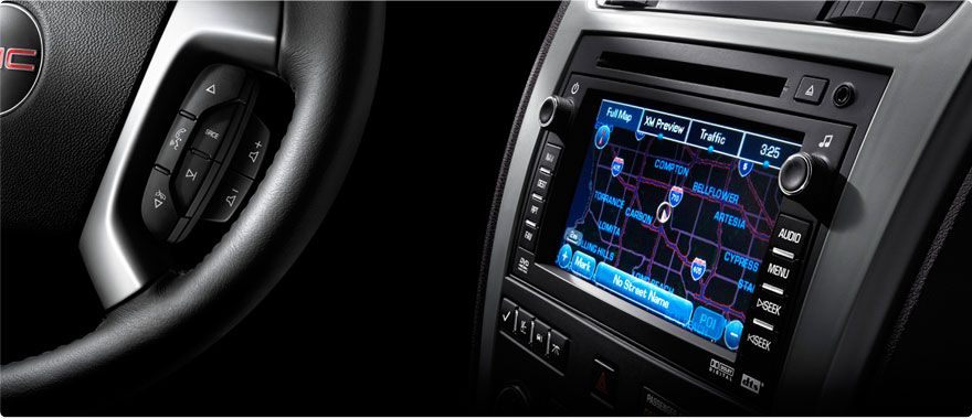 2012 Gmc Acadia Acadia Slt With Available Touch Screen