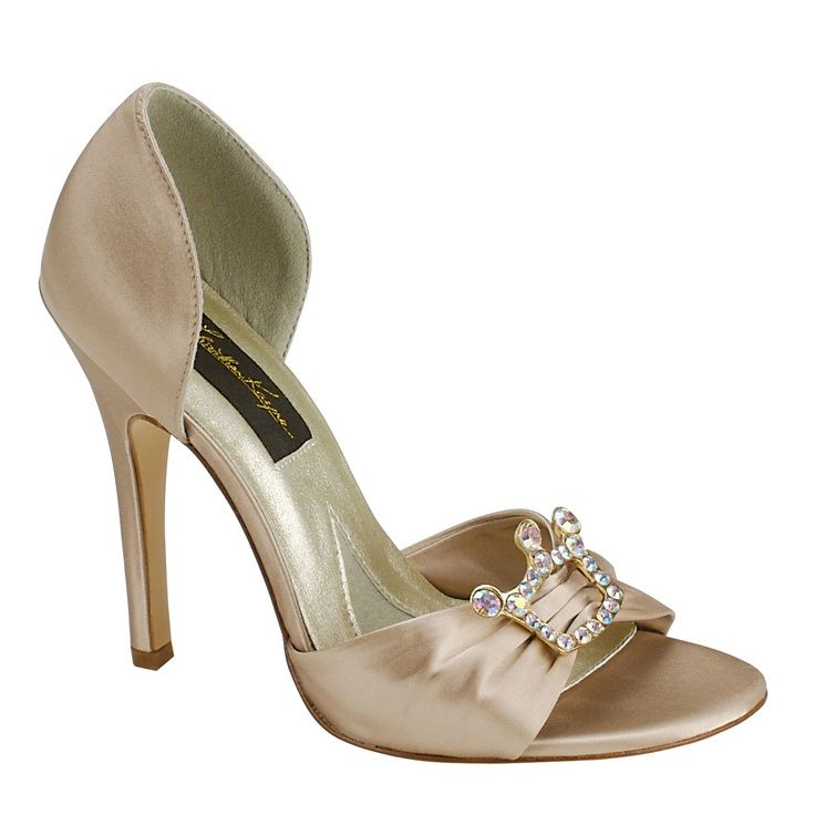 Love The Subtle Princess Symbol Wedding Bridal Shoes