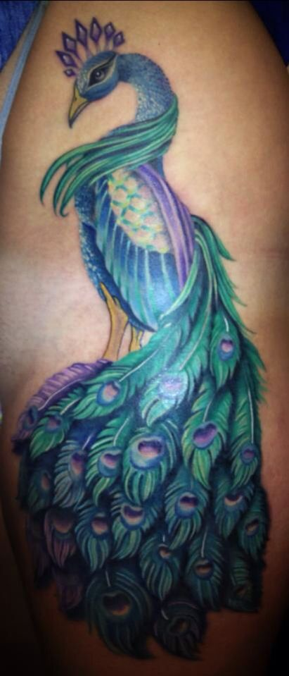 Some beautiful work from miss Melissa varney of blackcat tattoo in Reno, nv!