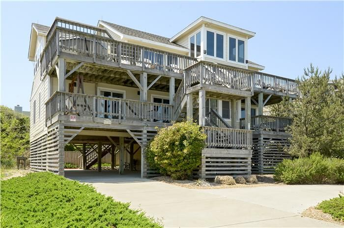 Camelot 5 Bedroom 3 5 Bath Semi Oceanfront Private Heated Pool And Hot Tub Baby Equipment Dog Frie Vacation Rental Nc Vacation Rentals Vacation Home