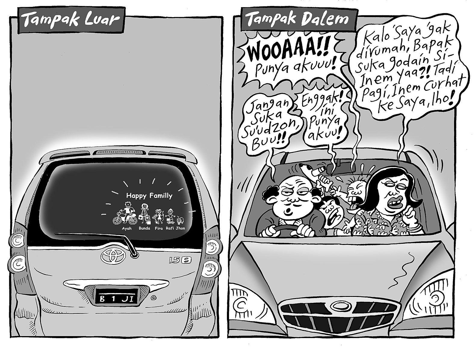 Mice Cartoon Kompas 31 Agustus 2014 Happy Family Tampak Luar Dan Tampak Dalam Kartun Komik Lucu Lucu