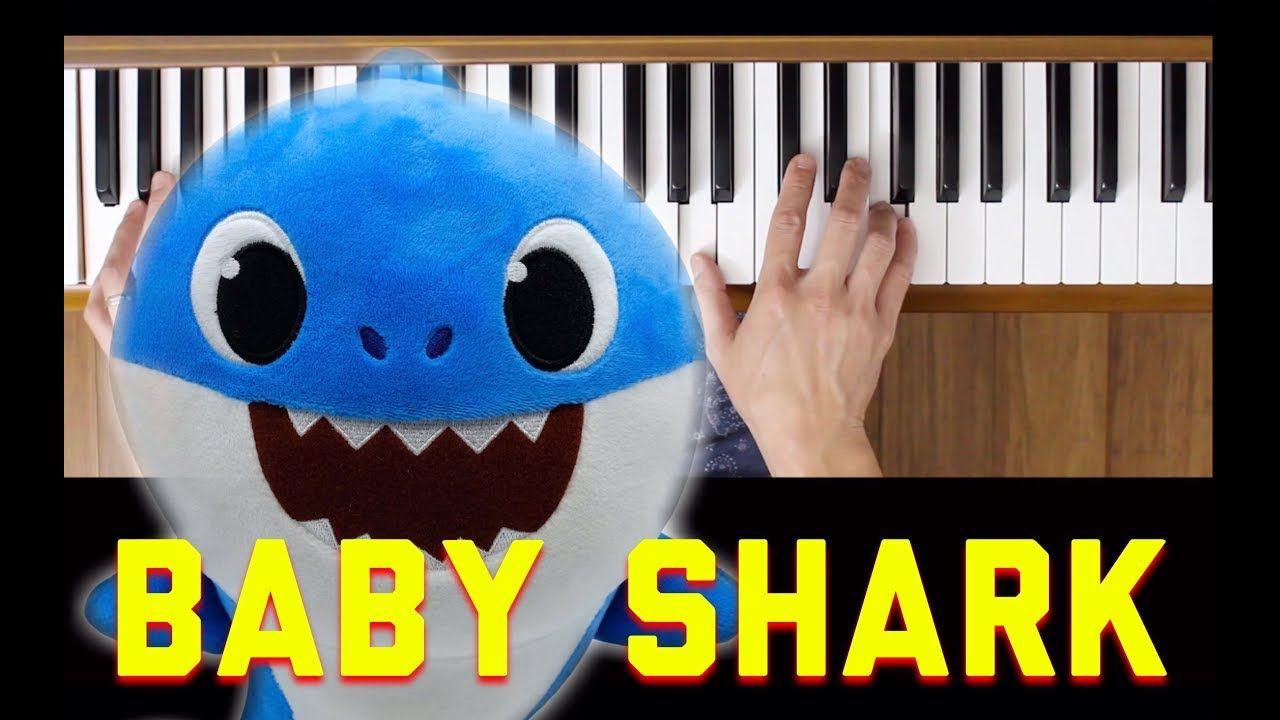 Baby Shark Dance (Easy Piano Tutorial)   Baby shark dance ...
