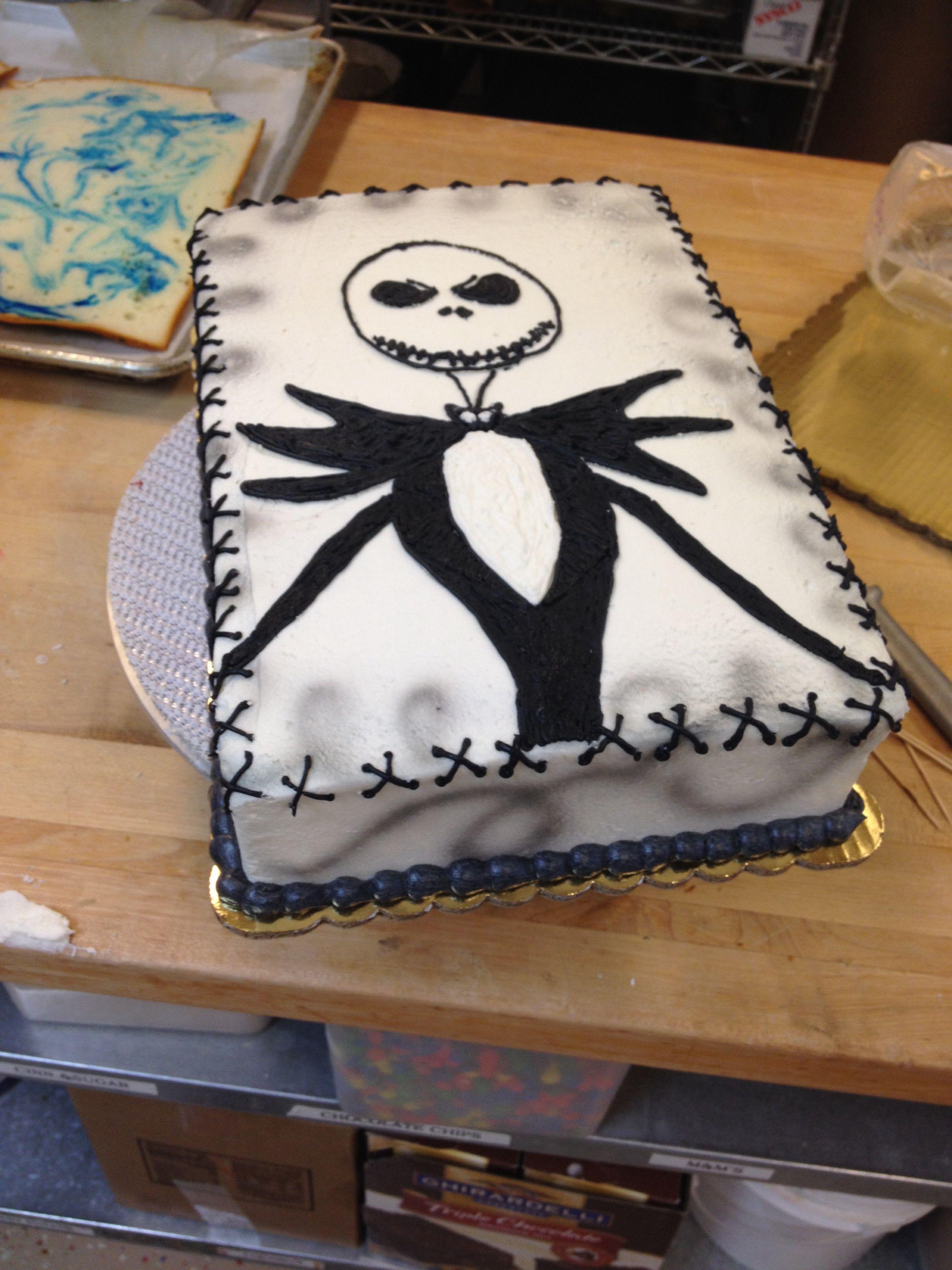 Jack Skellington Cake My Cakes Pinterest Jack Skellington