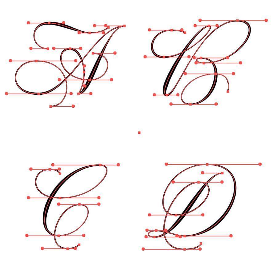 500 Melhores Ideias De Monogramas Monograma Alfabeto Fontes De Letra