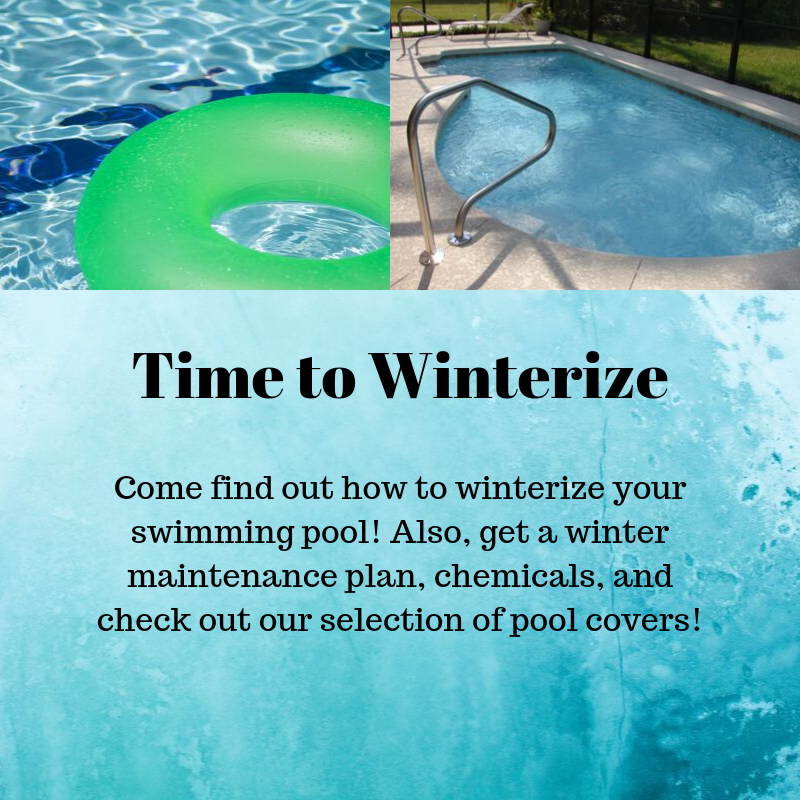 Come See Us To Find Out How To Winterize Your Pool Clearwater