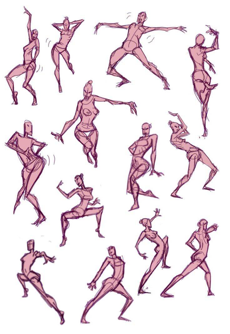 It's just a picture of Selective Dance Drawing Reference
