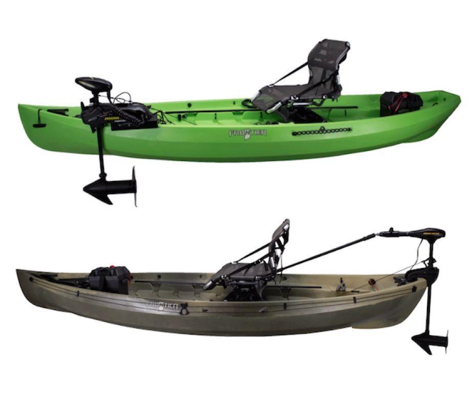 Nucanoe S New Plug Play Motor Kits Will Let Anglers Add A Motor To Their Kayak Easier Than Ever Kayaking Kayaki Lodka