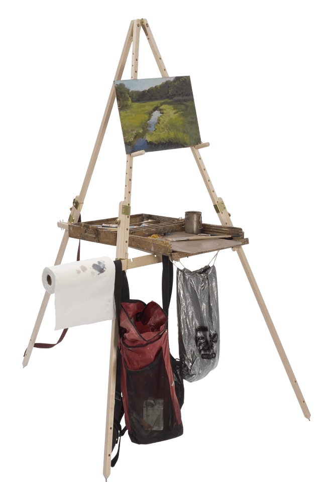 Take It Easel is the only plein air easel that supports