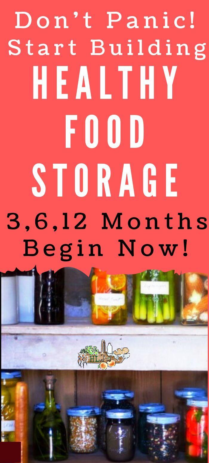 No Panic Food Storage