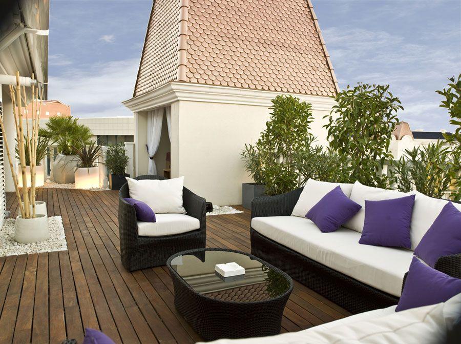 Tico con encanto aries interioristas terrazas pinterest terrazas dise o de jard n - Decorar terrazas aticos ...