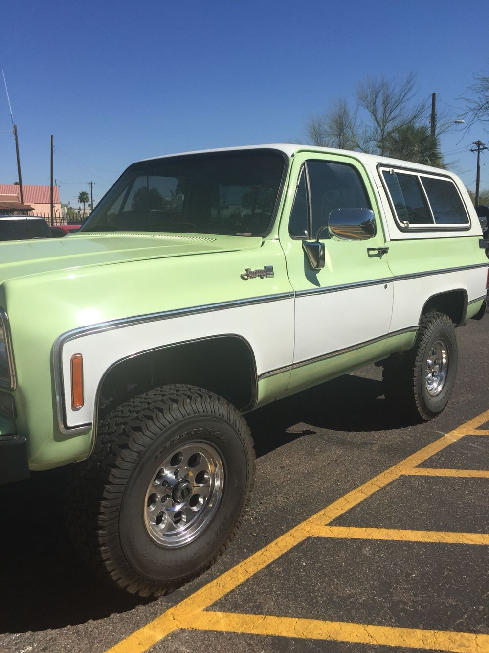 1976 Gmc Jimmy Original Color Willoway Green Gmc Ls1 Engine