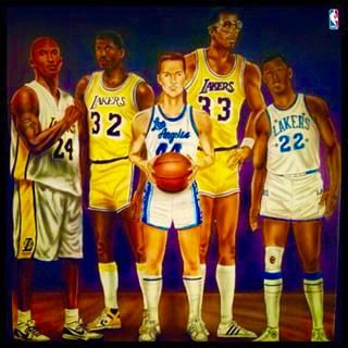The Lakers All Time Starting 5 As Stated By James Worthy He S Absolutely Right Lakers La Lakers James Worthy