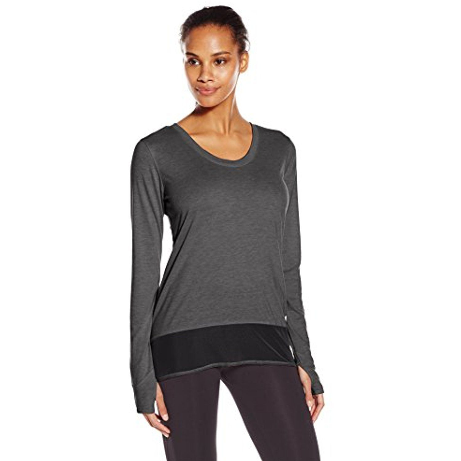 9780098b adidas Performance Women's Mixed Mesh Long-Sleeve Coverup Shirt *** Want  additional info? Click on the image. (This is an affiliate link) #Shirts