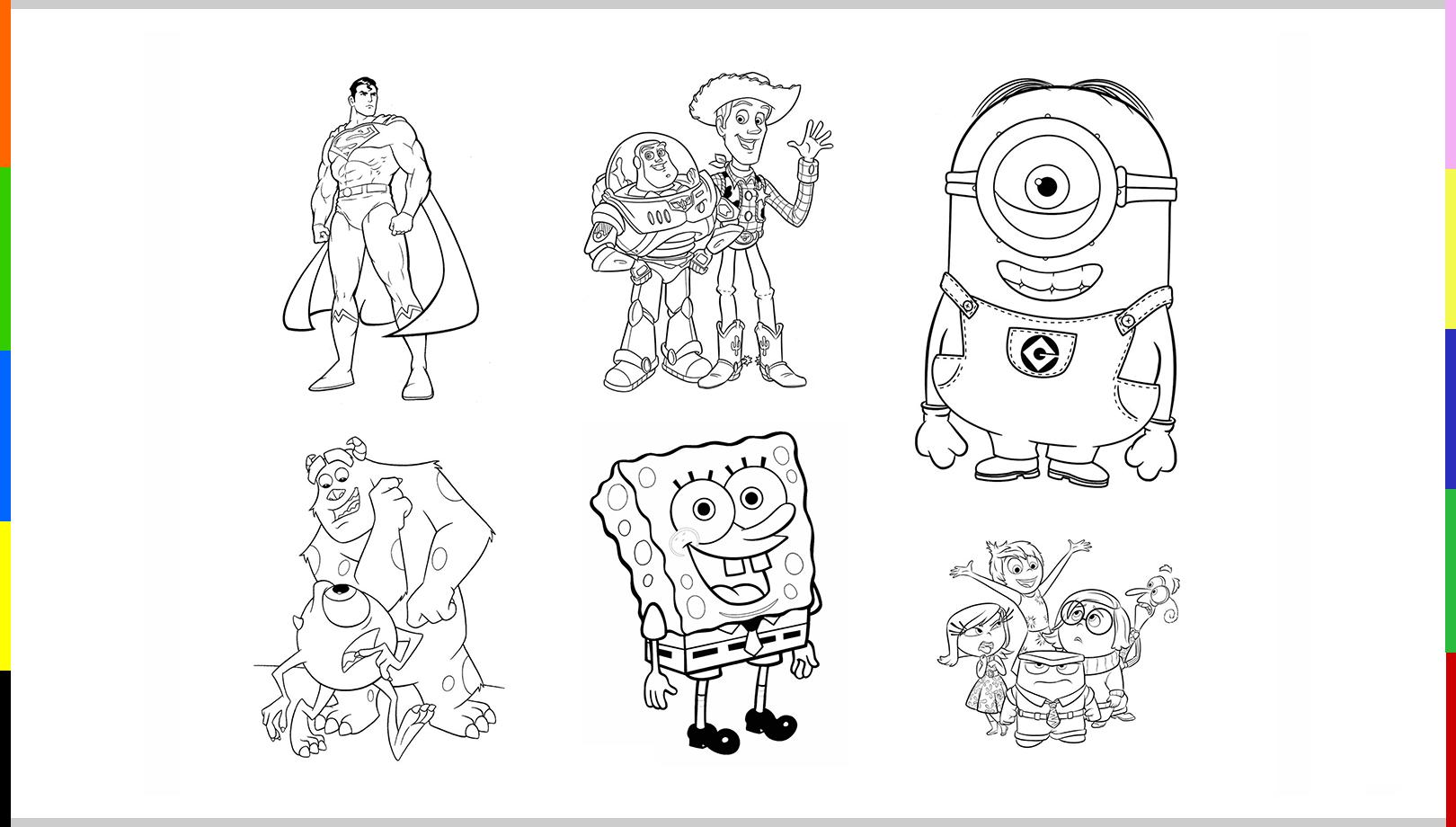 10 Dibujos Para Imprimir Y Colorear Dibujos Para Imprimir Imprimir Sobres Dibujos