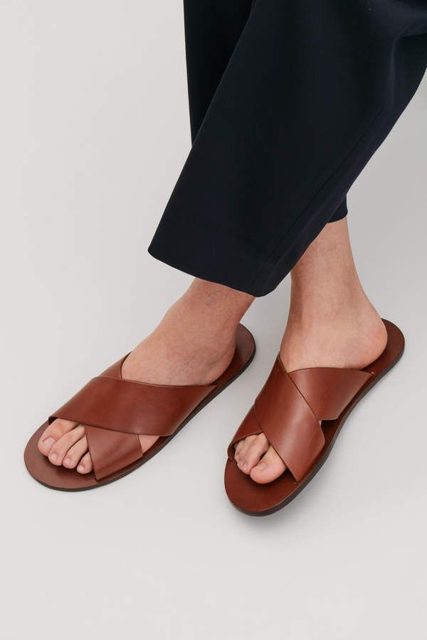 Chaussuresac Crossover Cos En Wmn80nv Sandals À Leather 2019sandales f6IbymgvY7