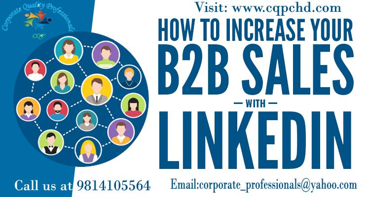Increased B2B Sales on Linkedin Prepare a digital version