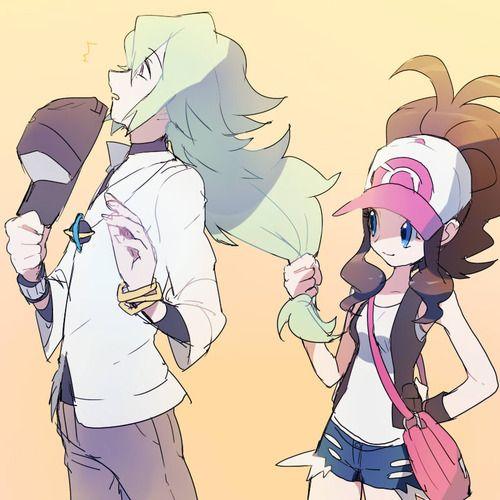 touko and n | sinnohgirl:ごちゃまぜ by ハレト