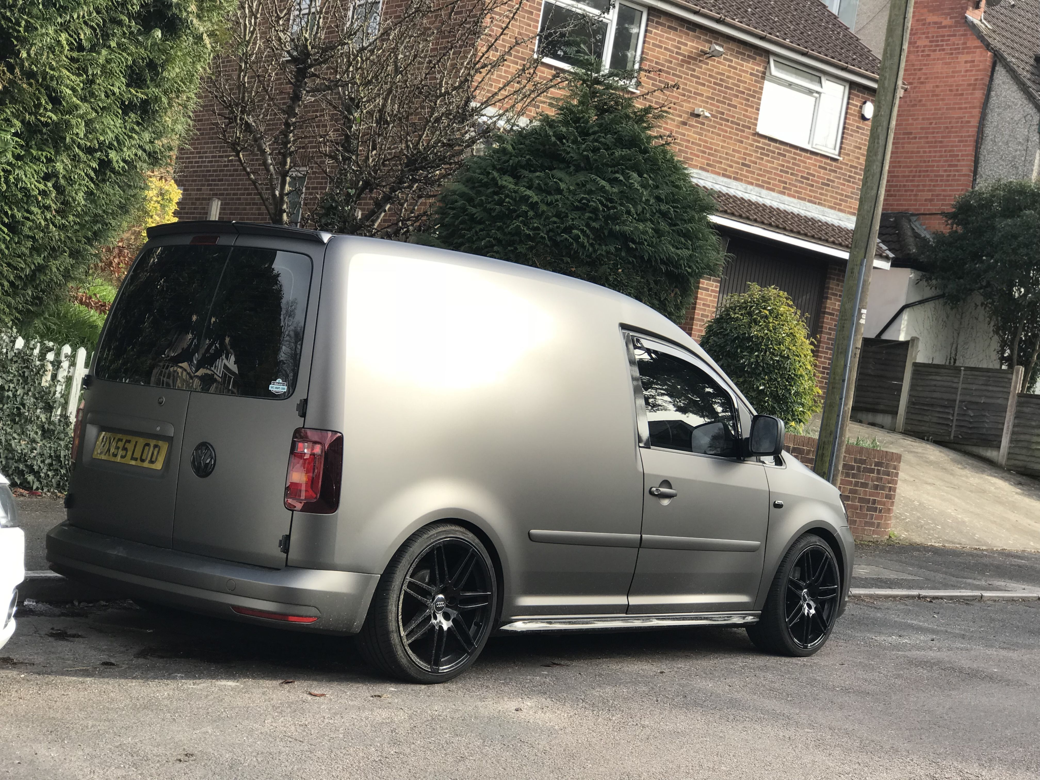 vw caddy 2k 3m matt charcoal met wrap caddy und t6. Black Bedroom Furniture Sets. Home Design Ideas