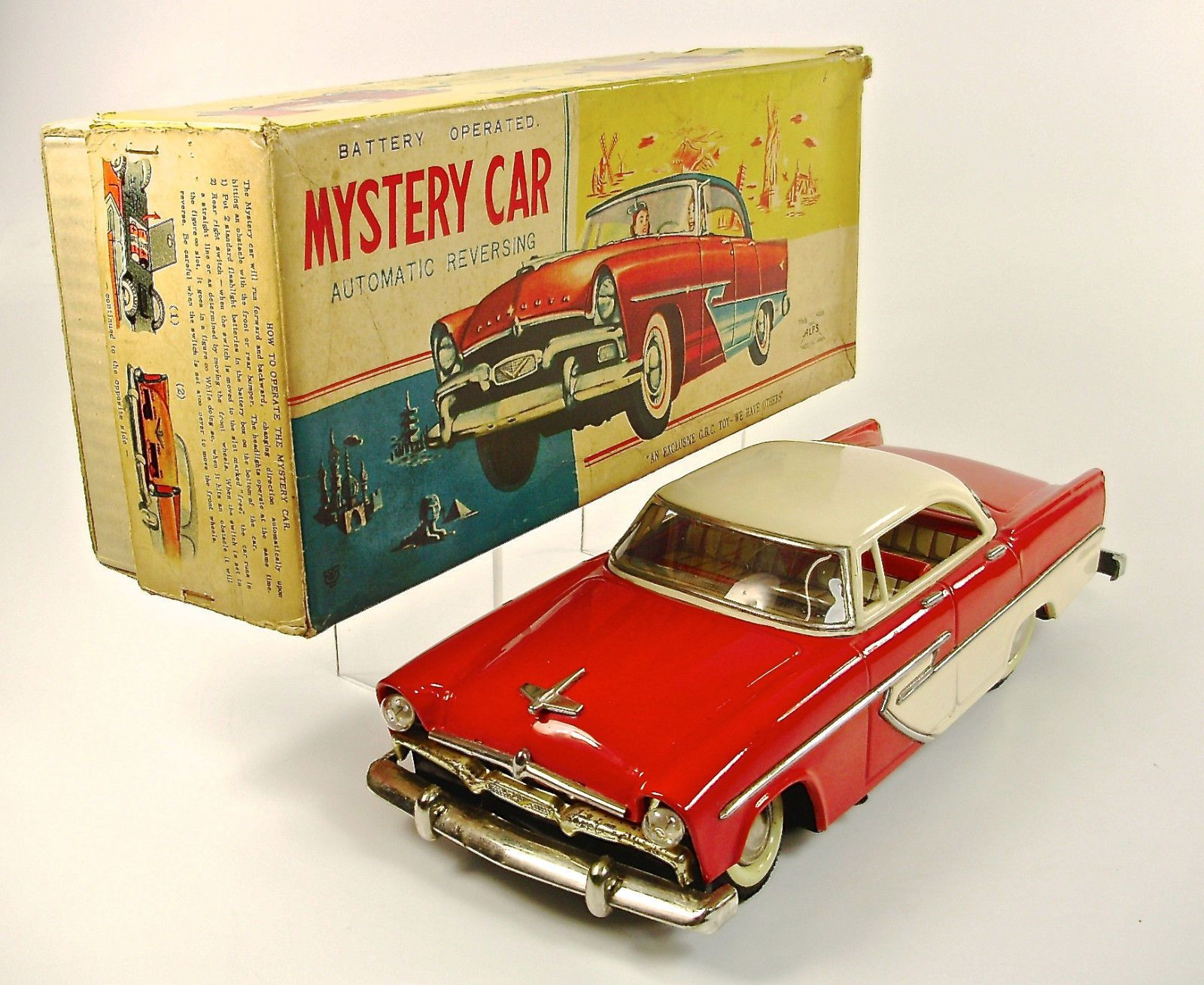 toy cars Mobile Antique Price Guide | Japan Tin Toy | Pinterest ...