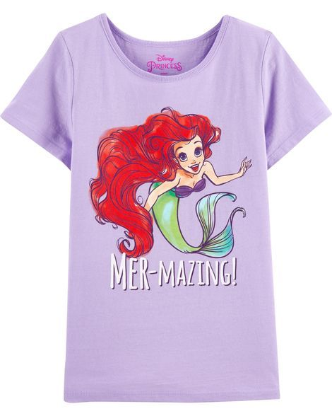 8c5400a7f6c4a The Little Mermaid Tee in 2019 | Products | Kids girls tops, The ...