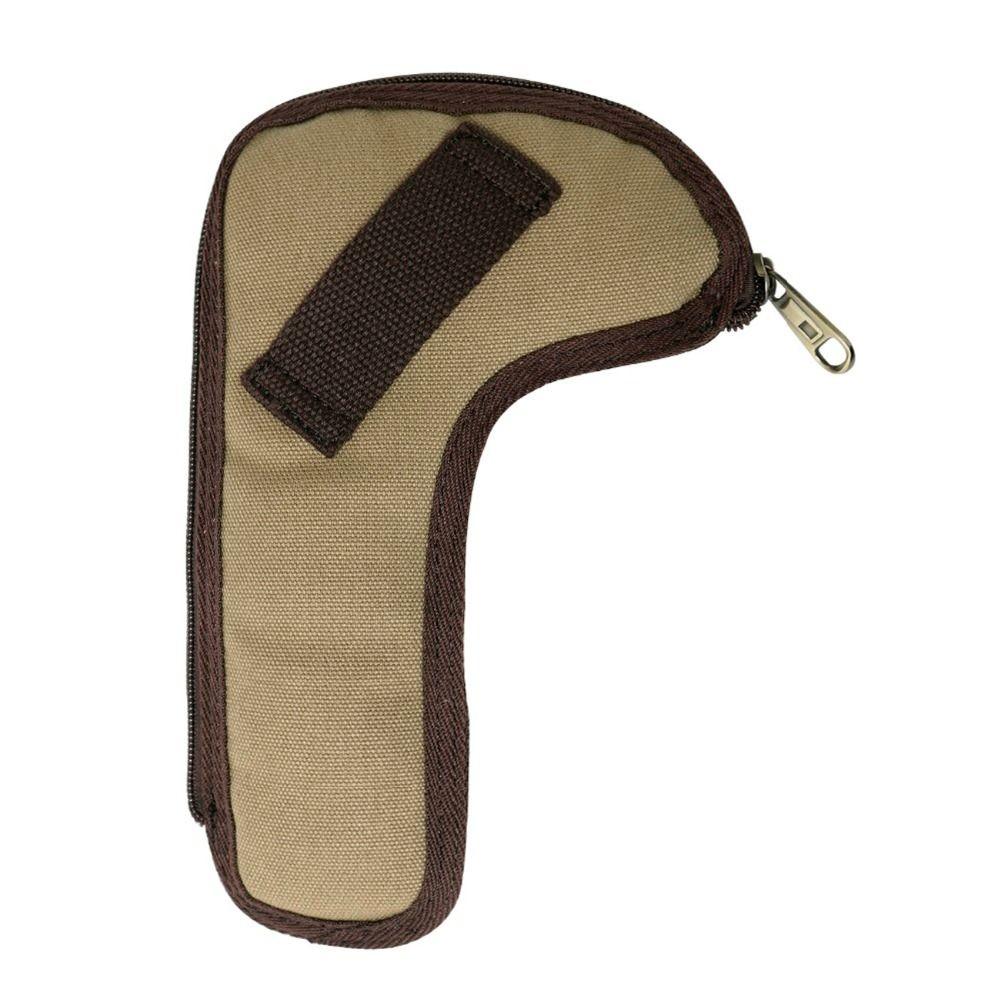 Tourbon Outdoor Hunting Rifle Bolt Holder Canvas Gun Holster Pistol Belt Holder Shooting Shotgun Holster Cover Protector