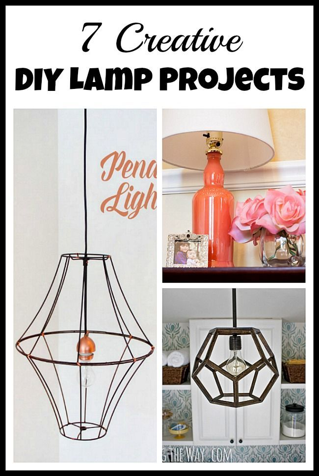 7 creative diy lamp projects homemade lamps wall decorations and 7 creative diy lamp projects homemade lamps wall decorations and project ideas solutioingenieria Images