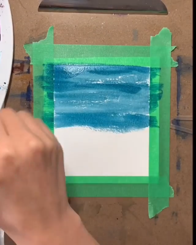 Seaside Watercolor Painting Is there a better way to encapsulate your summer memories than a peacef