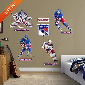 New York Rangers Power Pack Fathead Wall Decal Power Pack 99 99 New York Rangers Ranger Wall Decals