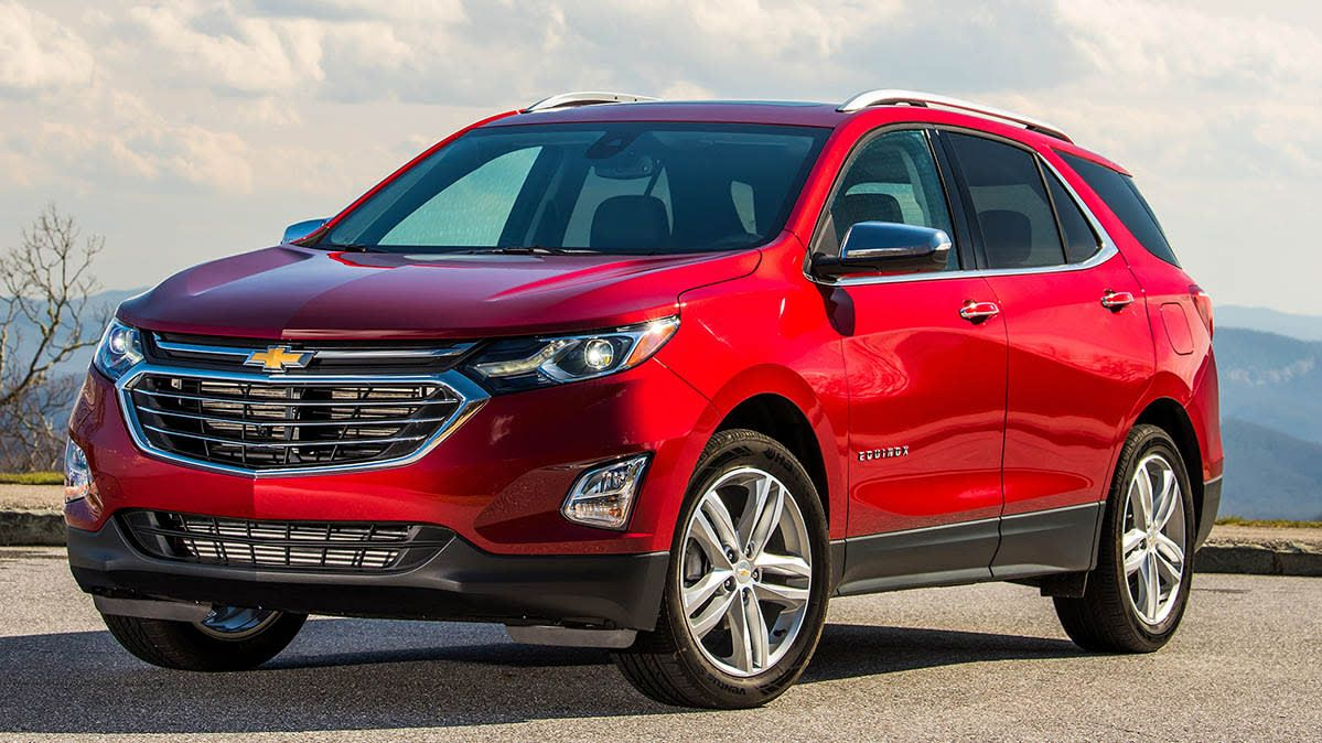 The Most Fuel Efficient Suvs Chevrolet Equinox Chevy Equinox Equinox Car