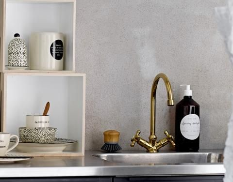 schicke putzutensilien kehrblech besen und mehr deko. Black Bedroom Furniture Sets. Home Design Ideas