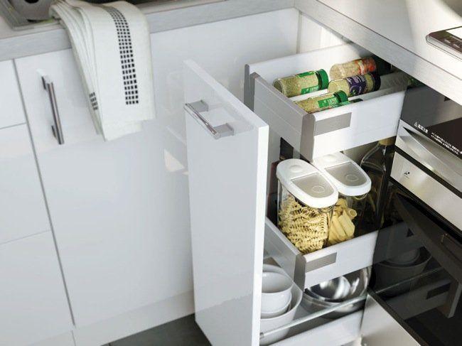 encuentra este pin y muchos ms en soluciones para organizar espacios de anammanzano cajones almacenaje cocina